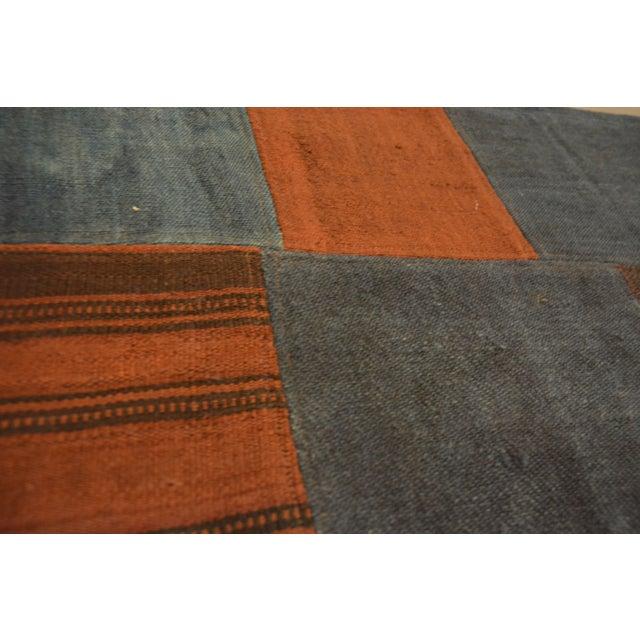 "Turkish Kourmak Rug/Textile - 4' 5"" x 4' 9"" - Image 3 of 3"