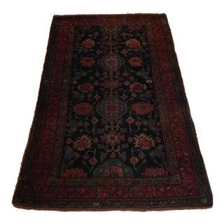 Antique Wool Rug - 3′6″ × 6′2″