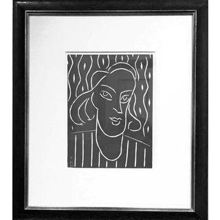 Henri Matisse Teeny Original Linocut