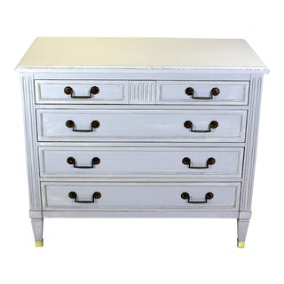 Mid-Century Neoclassical Style Chest Of Drawers