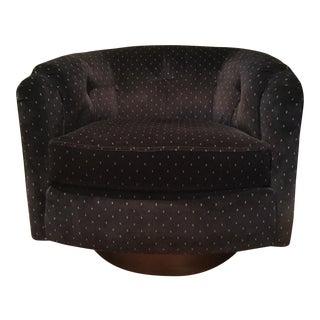Mid-Century Swivel Lounge Chair