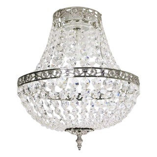 Bathroom Chandelier - Empire Nickel