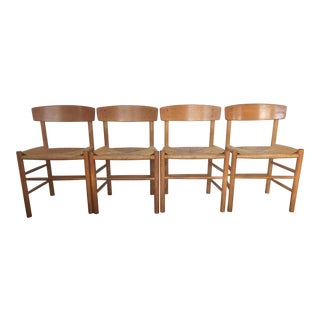 Vintage Danish Modern Mobler Dining Chairs - Set of 4