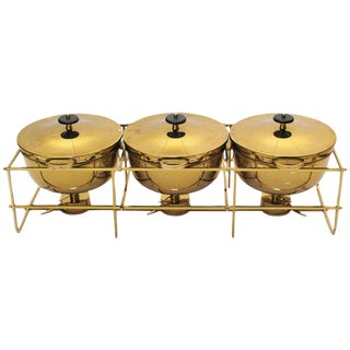 Tommi Parzinger Triple Chafing Dish
