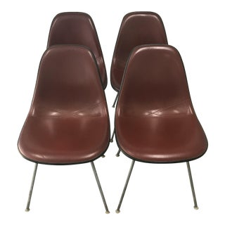 Herman Miller Fiberglass Shell Chairs - Set of 4