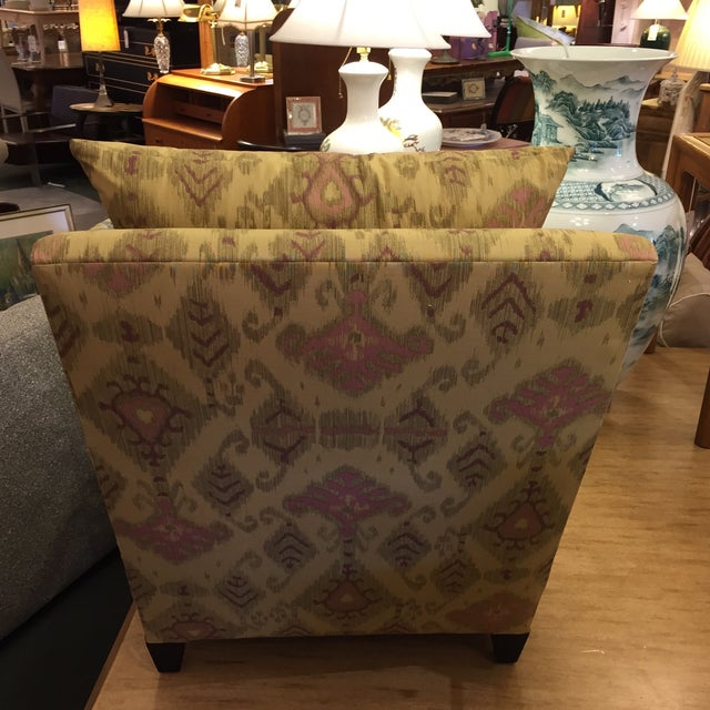 Donghia Villa Custom Ikat Chair - Image 7 of 11