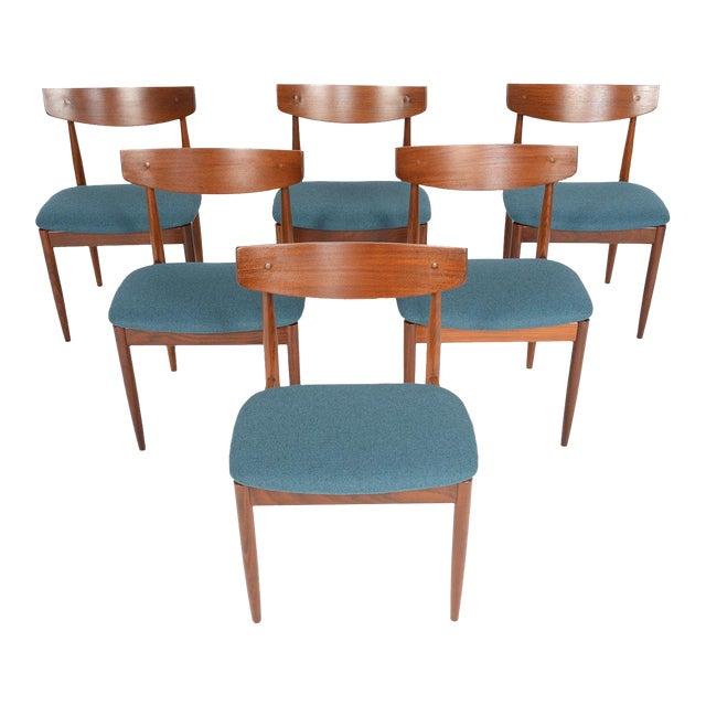 Ib Kofod- Larsen for G Plan Teak Dining Chairs - Set of 6 - Image 1 of 8
