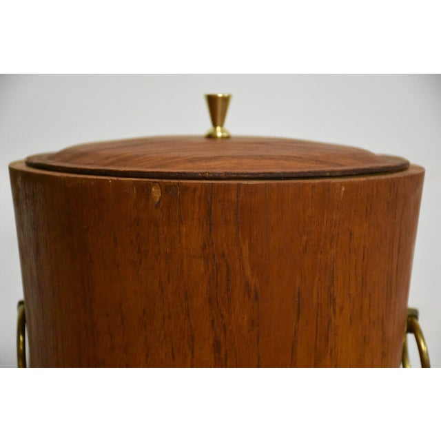 Mid-Century Teak Ice Bucket - Image 5 of 8