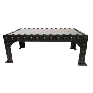 Iron Rivet Coffee Table