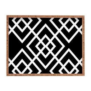 Black & White BambooTray