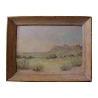 Desert Mountain Landscape Oil