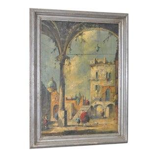 19th Century Italian School Oil Painting