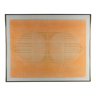 Paul Maxwell Abstract Hand-Cast Print