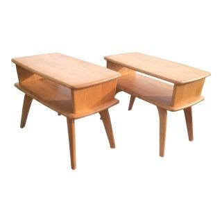 Vintage Heywood Wakefield End Tables, 1950s - A Pair