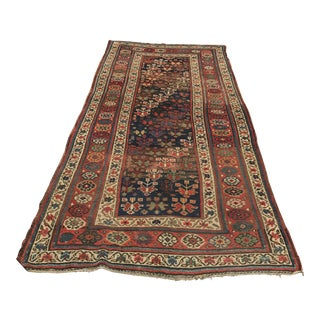 "Antique Russian Kasack Rug - 4'4"" x 8'9"""