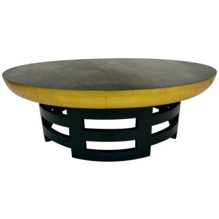 Kittinger Oil-Drop Lotus Coffee Table