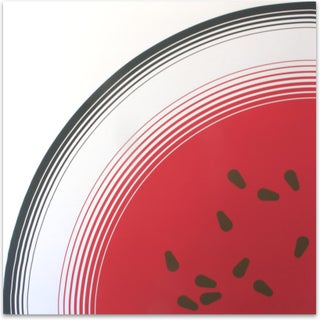 Large-Scale Watermelon Screen Print, 1973