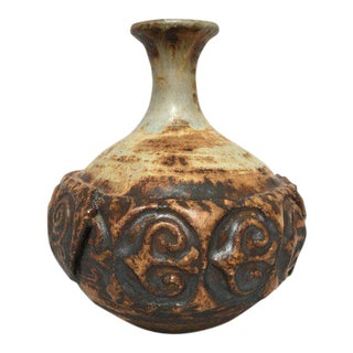 Scandinavian Modern Studio Pottery Stoneware Vase
