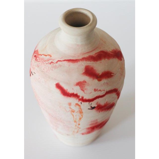 Image of Vintage Nemadji Pottery Vase