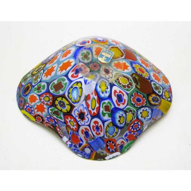 Fratelli Toso Millefiore Mosaic Murano Glass Bowl - Image 4 of 10