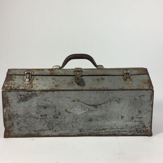 Vintage Industrial Toolbox - Image 2 of 8