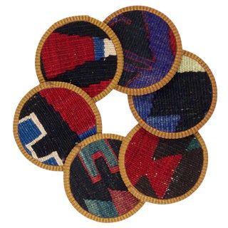 Pinar Kilim Coasters - Set of 6