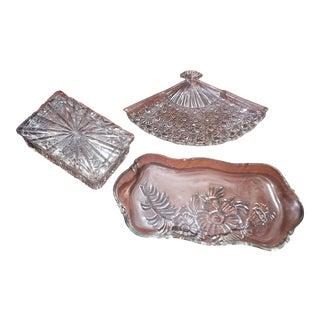 Crystal Decorative Bowls - Set of 3