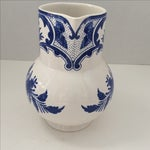 Image of Tiffany & Co Delft Blue & White Pitcher