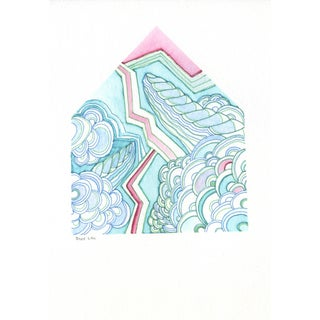 House Watercolor Painting - Shelf Life
