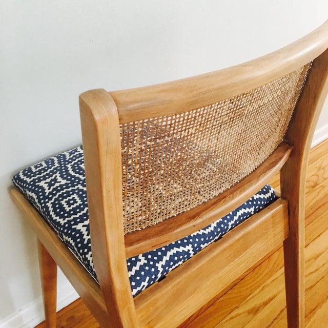 Boho Mid-Century Modern Cane Chair - Image 3 of 6