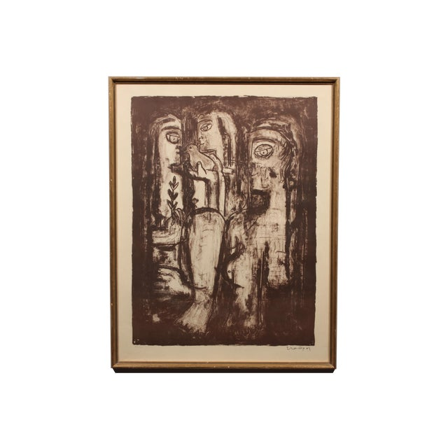 Three Sisters Etching - Image 1 of 3