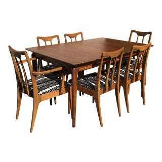 Drexel Mid-Century Dining Set - Set of 7