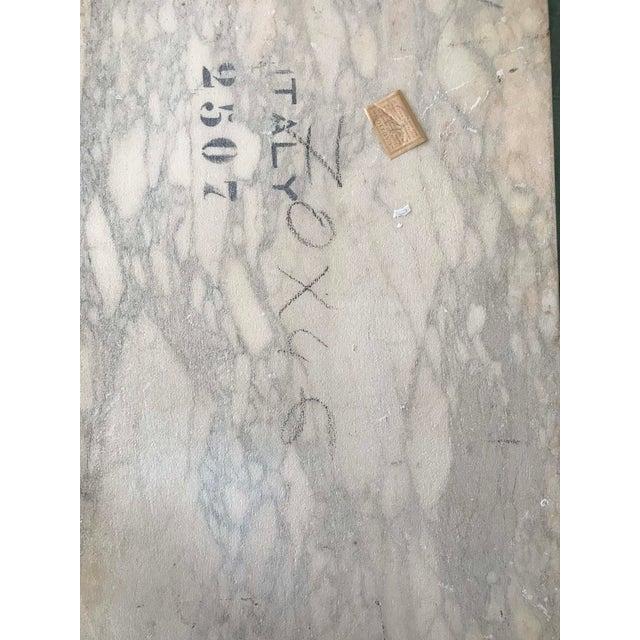 Maurizio Tempestini for Salterini Marble-Top Side Table - Image 5 of 5