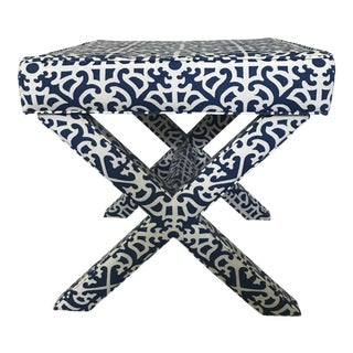 Ballard Designs Transitional X Stool