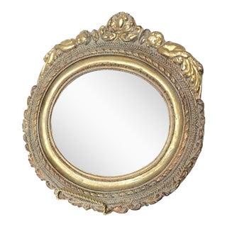 Baroque Gold Cherub Mirror