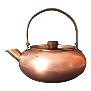 Vintage Solid Copper Tea Kettle