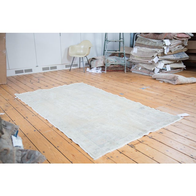 "Distressed Oushak Rug - 4'4"" X 7'1"" - Image 2 of 10"