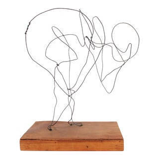 Nude Line Sculpture by Jack Freeman