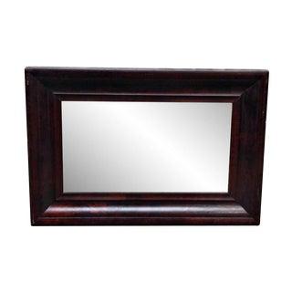 Brown Empire Wooden Mirror