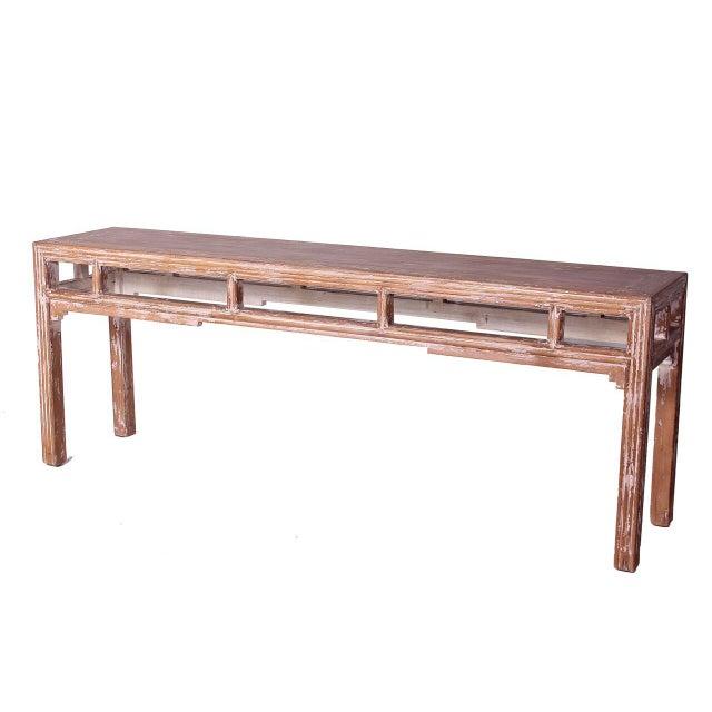 Image of Sarreid LTD Distressed Altar Table