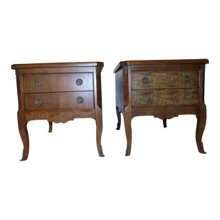 Henredon Ormolu Nightstands - A Pair