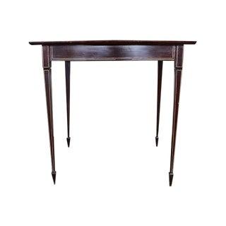 19th C. Sunburst Side Table