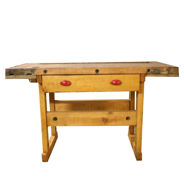 1945 Maple Wood Workbench - Image 1 of 4