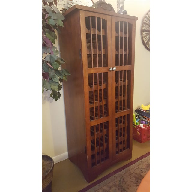 Pull-Out Wine Rack Cabinet - Image 3 of 5