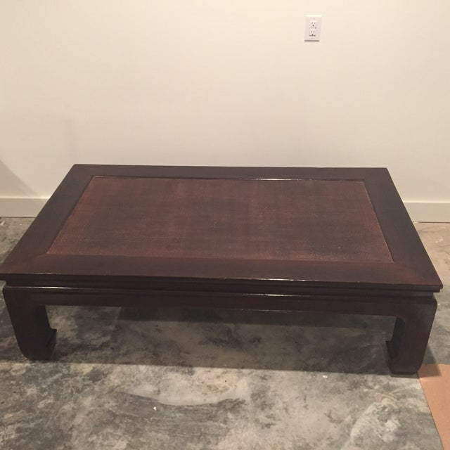 Image of Custom Chinese Style Coffee Table & Stools