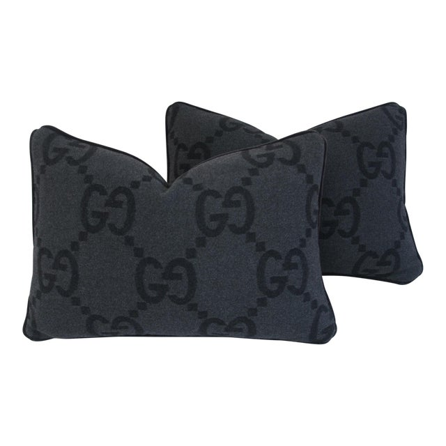 Gucci Cashmere & Mohair Pillows - Pair - Image 1 of 10
