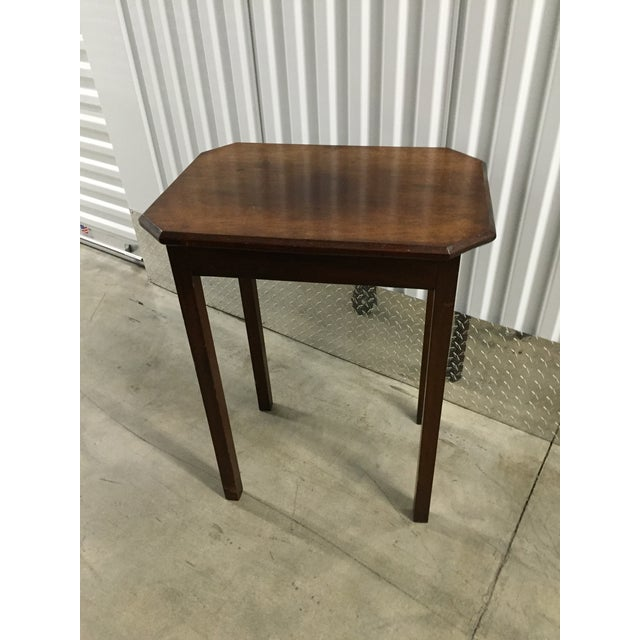 Antique Lift-Top Side Table - Image 2 of 8