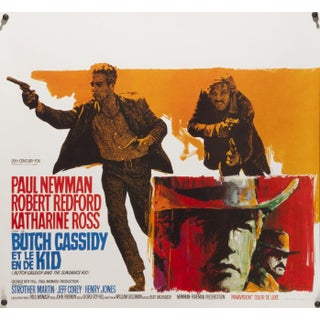 """Butch Cassidy and the Sundance Kid"" Poster"