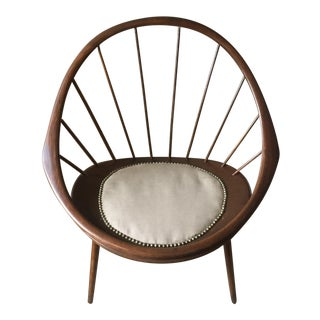 Original Signed IB Kofod Larsen Peacock Chair