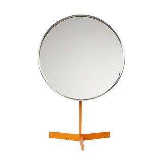 Durlston Designs Ltd Orange Lacquered Pedestal Vanity Mirror